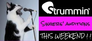 singers auditon week end